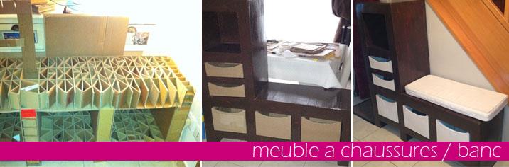 meuble chaussures blanc cr ation de figurines personnalis es votre image. Black Bedroom Furniture Sets. Home Design Ideas