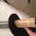 finission - le manche du sabre