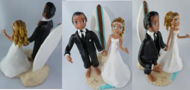 Quand des surfeurs se marient