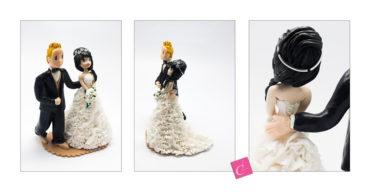 Les figurines personnalisées de Sylvaine et Maxime