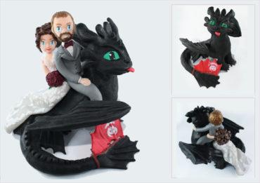 Krok-mou à la une pour un mariage sous le thème de Dragon