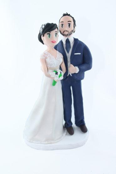 Les figurines personnalisées de Jennifer et Sa