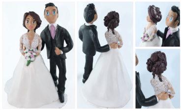 La figurine de Monica et Romain