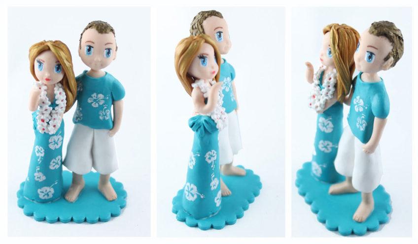 Alice et Fred pour une urne de mariage pas comme les autres