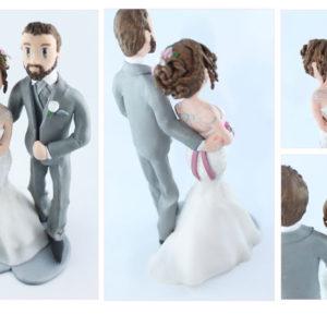 Figurines personnalisées pour les mariages Traditionnels