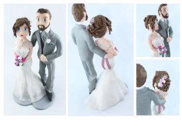 la figurines personnalisée de Karen et Thierry