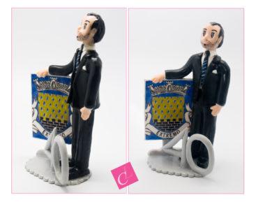 Une figurine personnalisée pour les 40 ans de Alberto