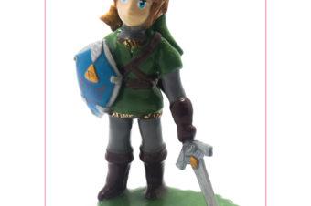 La figurine pour l'anniversaire de Erwann
