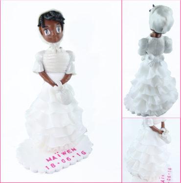 la figurine pour le baptême de Maïwen