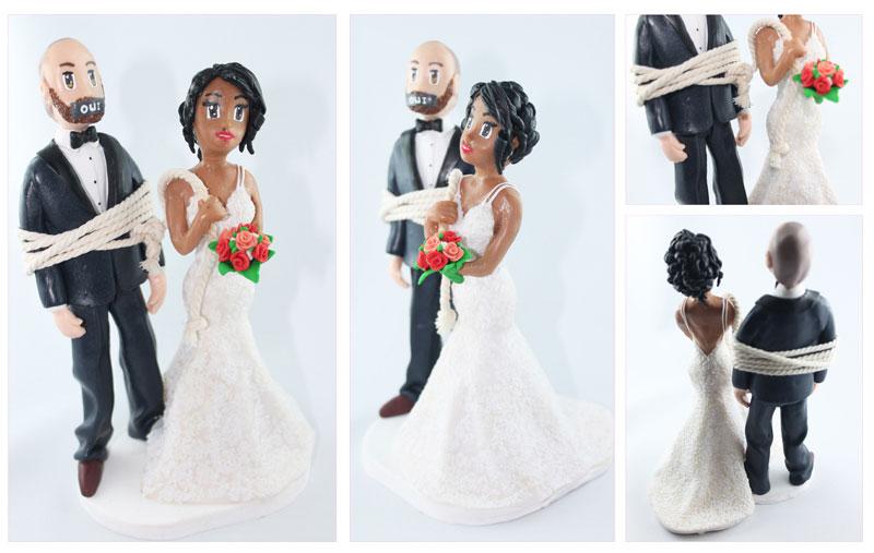 Figurines personnalisées pour les Mariages à thème
