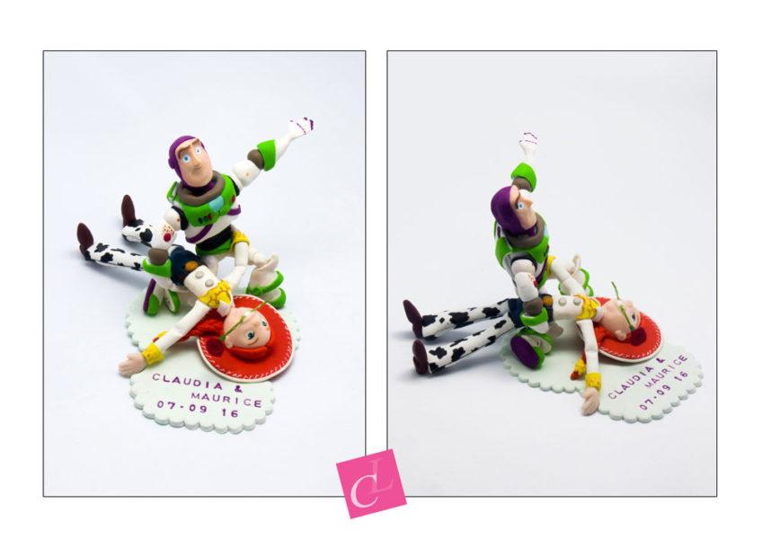 figurines personnalisées de Claudia et Maurice