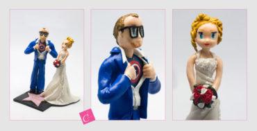 Les figurines personnalisées de Laura et Yoann