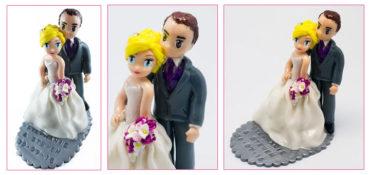 Les figurines personnalisée de Stéphanie et Stewen
