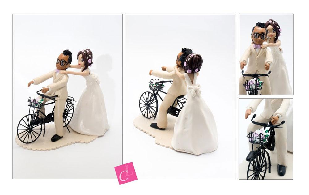 un cake topper pour une demande en mariage pas comme les autres!