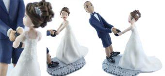 figurine personnalisée de Gwendoline et Cédric
