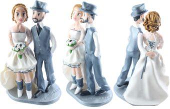 les figurines personnalisées de Mélanie et Sebastien